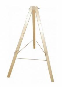 Zielscheibenständer aus Holz 115 cm