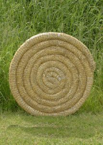 Traditionelle Strohscheibe, extra stark, 80 cm
