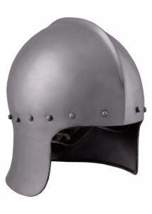 Boogschutters Helm 15e eeuws