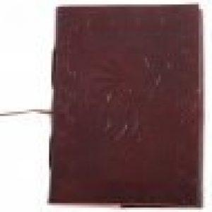 Ledergebundenes Tagebuch mit Greif