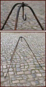 Dreibein Geschmiedet 115 cm