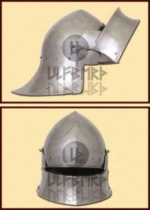 Engelse Sallethelm uit Coventry 1460 in S, M en L