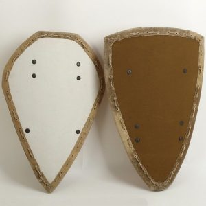 HMB Offensiv-Schild Tropfen oderr Dreieck 14Jh-15Jh.