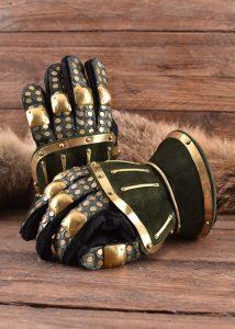 Hourglass Handschoenen Groen-Goud