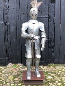 Oud model replica Ridder Harnas van Marto van ca. 50 jaar oud.