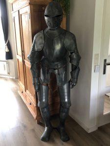 Oud model replica Ridder Harnas van Marto van ca. 50 jaar oud