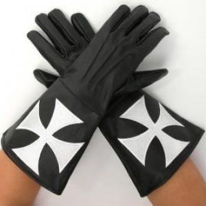 Johanniter Orde Handschoenen Leder