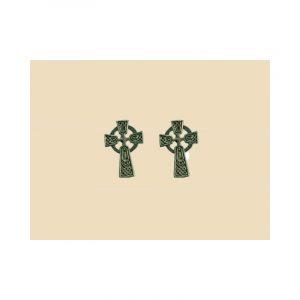 Keltisch Kruis Oorbellen Zilver