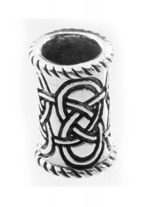 Baardkraal Keltisch Lang Zilver