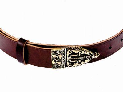 Keltischer Gürtel der Latenezeit in 4 cm Braun