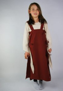 ​Viking Kinder Overjurk in Rood
