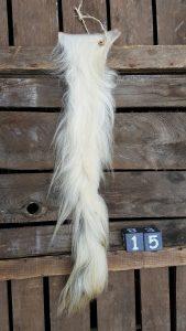 Koeienstaart Wit +/- 65 cm