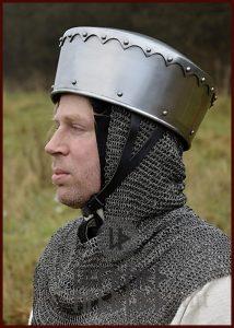 Kreuzfahrer Kalotten-Helm in M en L.