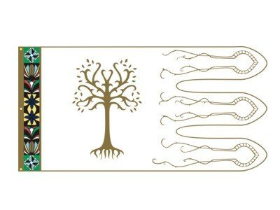 LOTR Boromir Vlag