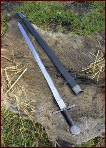 Spätmittelalter-Schwert Mailand rund 1432