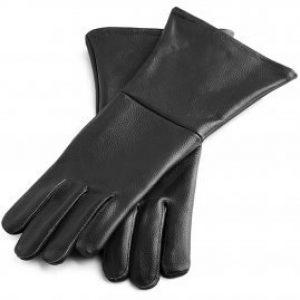 Lederen Handschoenen in Zwart