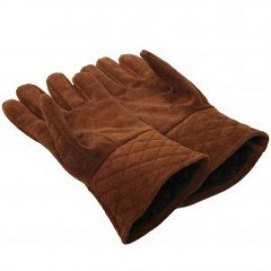 Lederen Handschoenen in Bruin