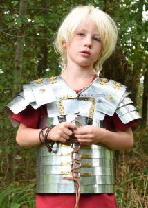 Romer Lorica Segmentata, Rüstung für Kinder