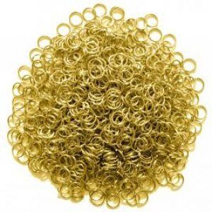 1 kg Malien Ronde Ringen van Messing 2 mm