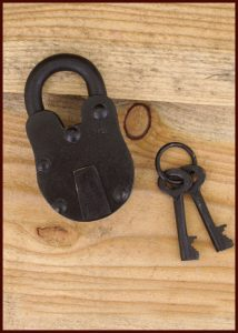 Middeleeuws Slot met Twee Sleutels