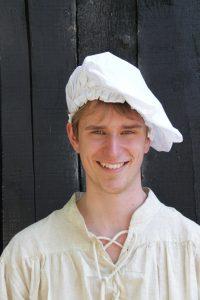 Middeleeuwse Baret Wit