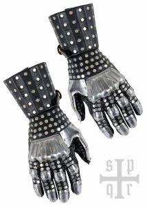 Middeleeuwse Handschoenen ( slacht om Visby 14e eeuws )