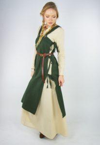 Wikinger Damen Überkleid in Grun