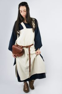 Viking Dames Overkleed in Natuurkleur