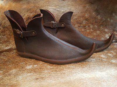 Mittelalter Schuhe 14-15Jh. nur noch im Mass 39-41-41