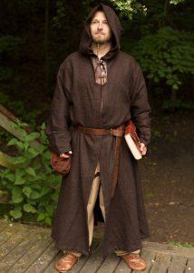 Mönchsrobe Benedict, braun