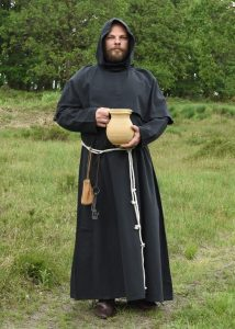 Mönchskutte Benedikt, schwarz