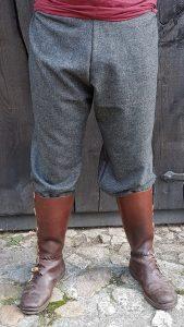 Viking Broek in maat XL in grijs