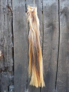 Paardenstaart licht/bruin gemêleerd 105 cm