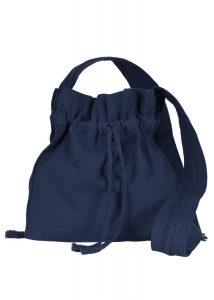 Mittelalterliche Pilgertasche Blau