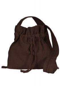 Mittelalterliche Pilgertasche Braun