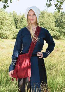 Mittelalterliche Pilgertasche Rot