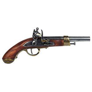 Pistole deko mit Holzgriff