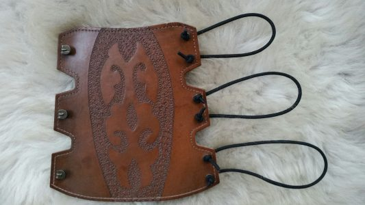 Armschutz Handgemacht Leder