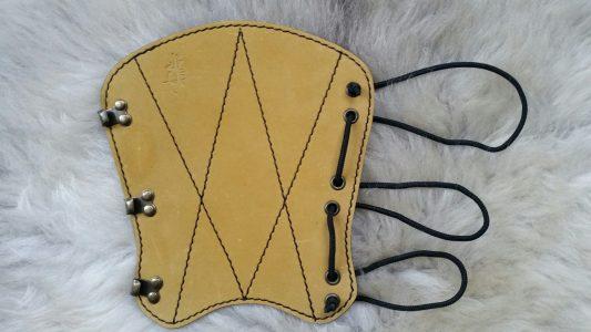 Polsbeschermer Handgemaakt Leder