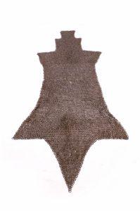 Romeinse Maliënkolder Benen, platte ring, verniet, onbehandeld, 6mm