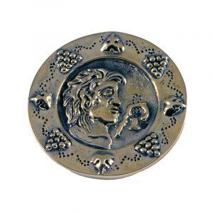 Romeinse Schijf Fibula Brons 1 -2e eeuws na Chr.