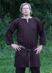 Romeinse Tuniek in Bruin