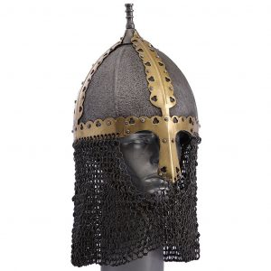 Rusviking Helm met malien 9e-10e eeuws