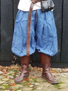 Viking Rusvik Broek maat L in lichtblauw