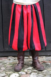 Viking Rusvik Broek Rood-Zwart