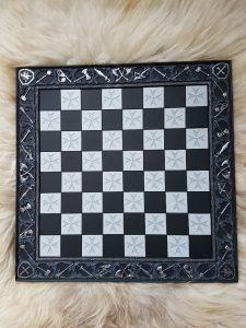 Schaakbord Resin voor Kruisvaarders schaakstukken