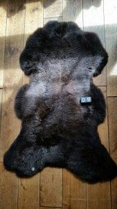 Schapenvacht Bruin +/- 130 x 75 cm