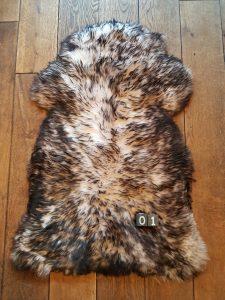 Schapenvacht Mouflon XXL +/- 105 x 60 cm
