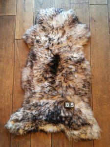 Schapenvacht Mouflon XXL +/- 115 x 65 cm