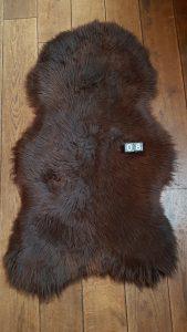 Schapenvacht Bruin +/- 125 x 70 cm